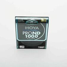 New HOYA 82mm PROND 1000 ND1000 TG-STPS Light Loss Filter for Camera Lens