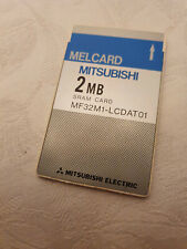 Melcard PCMCIA SRAM- Speicherkarte 2 MB  z.B. für SHARP  PC 3000 und andere