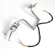 "16"" FRISCO APE HANGERS HANDLEBARS HAND CONTROLS SWITCHES FAT 1-1/4 BARS HARLEY"