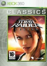 Tomb Raider: Legend Xbox 360 PAL VERY GOOD CONDITION COMPLETE WITH MANUAL