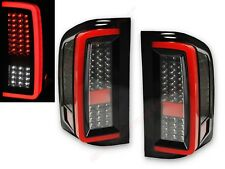 Set of Pair Black Full LED Taillights for 2007-2013 Silverado 1500 2500HD 3500HD