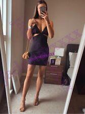 Black Zara Cut Out Dress L Large 12 New