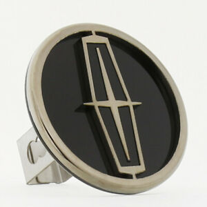 Lincoln Logo Hitch Cover (Black On Chrome)