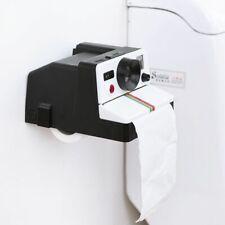 Bathroom Tissue Roll Box Holder Creative Style Toilet Paper Dispenser Wall-mount