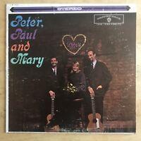Peter, Paul & Mary Self-Titled 1962 Vinyl LP Warner Bros Records WS 1449