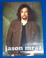 JASON MRAZ - Love is a four letter word 2-Sided Official Poster  New