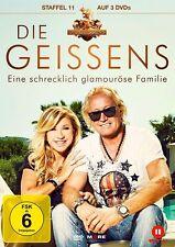 3 DVDs * DIE GEISSENS Eine schrecklich glamuröse Familie Staffel 11 # NEU OVP !