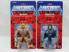 MOTU,Commemorative HE-MAN & SKELETOR,MOC,sealed,figure,Masters Of The Universe