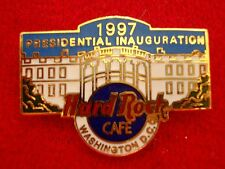 HRC Hard Rock Cafe Washington Presidential Inauguration 1997 Tac back