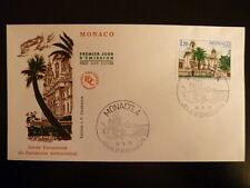 MONACO PREMIER JOUR FDC YVERT  1016    L ARCHITECTURE    1,20F     MONACO   1975