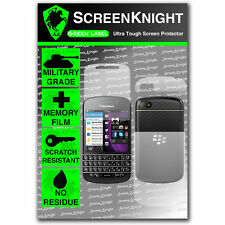 Screenknight BLACKBERRY Q10 COMPLETO corpo SCREEN PROTECTOR invisibile SCUDO MILITARE