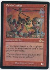MTG Goblin Welder Urza's Legacy Rare Signed by Scott M. Fisher EX Ink Transfer