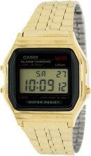 Casio Men's Core A 159 Wgea - 1 Dourado Quartzo Aço Inoxidável Relógio De Moda