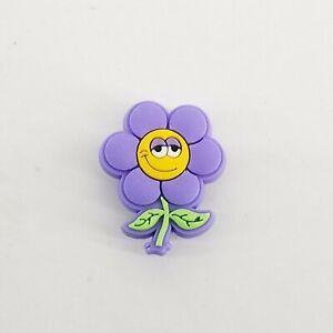 Purple Flower Authentic Crocs Jibbitz (NEW)