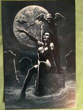 Joseph Vargo New Postcard Vamp Sexy Vampire Ghoul Monolith Graphic Card