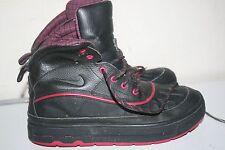 Big Girls Nike Woodside 2 High Boots, Leather, Black/Pink, Size: 6.5 Y US STK#A1