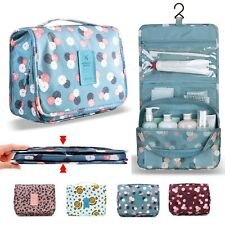 Ladies Wash Bag Toiletry handbag Hanging Travel Case Cosmetic Make Up Pouch Kit