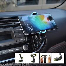 Car Rocker Arm Scalable Vent Outlet  Mount Mobile Bracket Phone Holder Base Clip