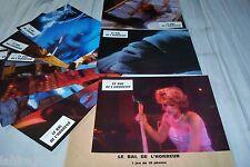 LE BAL DE L'HORREUR ! jamie lee curtis jeu 10 photos cinema lobby cards horreur