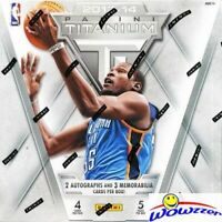 2013/14 Panini Titanium Basketball HOBBY Box-5 AUTOGRAPHS/GU-Antetokounmpo RC Yr