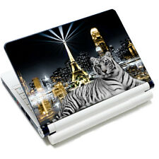 "Ciudad Tiger de 15,6 ""Tamaño Universal Pc Skin Adhesivo Para Sony Dell Toshiba Msi Laptop"