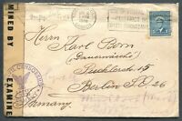 CANADA #255 WAR ISSUE FOREIGN DESTINATION COVER TO BERLIN, GERMANY