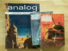 Analog Science Fiction, Science Fact magazine back issues 1963-1994