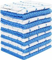 "12 Pack Kitchen Towel Dish Cloth Super Absorbent Tea Towels 15x25"" Utopia Towels"