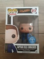 Funko Pop! Flash Captain Cold Unmasked #217 - Underground Toys Exclusive Rare
