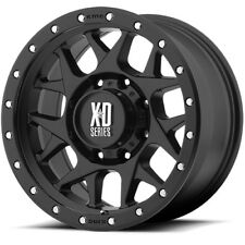 16x8 Black XD127 6x5.5 0 BFGoodrich Advantage T/A Sport KO2 265/70R16 Rims Tires