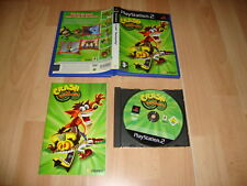 CRASH TWINSANITY TWIN SANITY CON CRASH BANDICOOT PARA SONY PS2 USADO COMPLETO