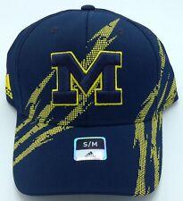 NCAA Michigan Wolverines Adidas Flex Fit Cap Hat Beanie Style #M424Z NEW!
