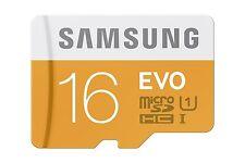 Samsung 16 GB Evo micro SD SDHC 48MB/s Class 10 UHS-I TF Mobile Memory Card 16G