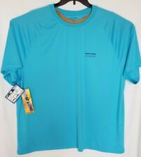 New Men's Trophy Wear Ocean Sailfish Graphic Polyester Blue T-Shirt Size 2XL