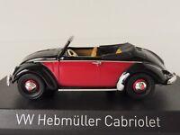 VW Hebmüller Cabriolet 1949 1/43 Norev 840021 Volkswagen Convertible Käfer