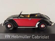 NOREV 840021 VOLKSWAGEN Hebmüller 1949 - Black & Red