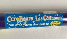 Vintage Wrapping Paper Carebears Gift Wrap 20 Sq Ft Roll NOS 2005
