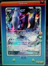 Darkrai GX Pokemon TCG Online *DIGITAL CARD* S&M Burning Shadows 88/147