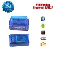 ELM327 V1.5 Bluetooth OBD2 For Android/Torque Super Diagnostic Code Reader KK