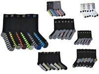 6 Pairs Fila Men's Athletic Classic Sport Absorb Dry Gym Crew Socks Size 6-12