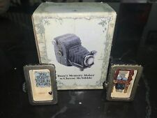 Boyds Bears Buzz's Memory Maker W/Cheese McNibble Camera