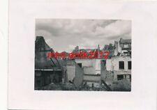 Foto, Werkschutz, Zerstörungen, Mons, Belgien, N(1809)