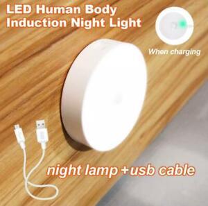 6 Led PIR Motion Sensor Night Light Auto For Bedroom stairs Cabuinet Wardrobe