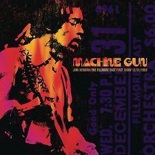 JIMI HENDRIX-MACHINE GUN JIMI HENDRIX THE FILLMORE EAST 12/31/1  2 VINYL LP NEUF