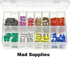 CAR FUSE PACK OF 100 PIECES 3AMP – 30AMP  ASSORTED STANDARD BLADE