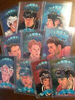 1993-94 DONRUSS  ICE KINGS 10 CARD SET GRETZKY,LINDROS,LEMIEUX,JAGR,ROY,BURE