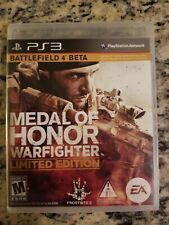 MEDAL OF HONOR WARFIGHTER LIMITED EDITION PLAYSTATION 3 PS3 W/ ORIGINAL BOX GOOD