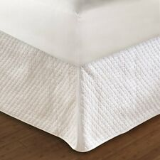"""Greenland Home Diamond Bed Skirt Twin Full Queen Or King 18"""" Quilted"""