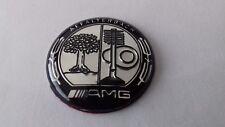 GRADE B AMG Affalterbach emblem Mercedes Multimedia Control knob Badge Sticker