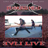 """Diamond Head : Evil Live VINYL 12"""" Album 2 discs (2017) ***NEW*** Amazing Value"""